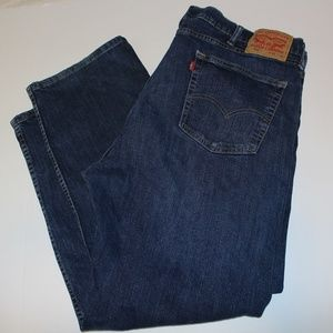 Levis Red Tag 505 Reg Fit Jeans Med Wash sz 42x30